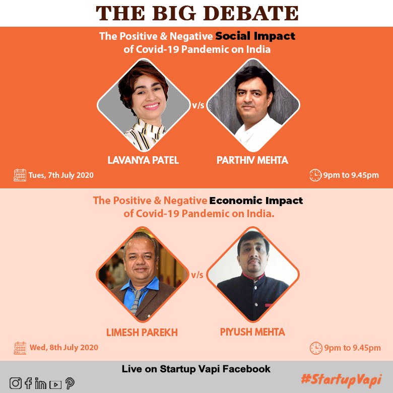 The Big Debate - Social & Economical Impact of Covid19 Pandemic on India
